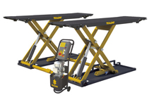 Tecalemit scissor lift